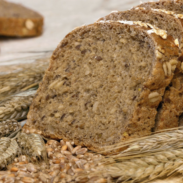 Whole-grain bread and cereals